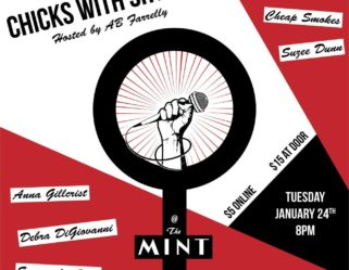 Tuesday Night come check out with Chicks With Shticks at The Mint!