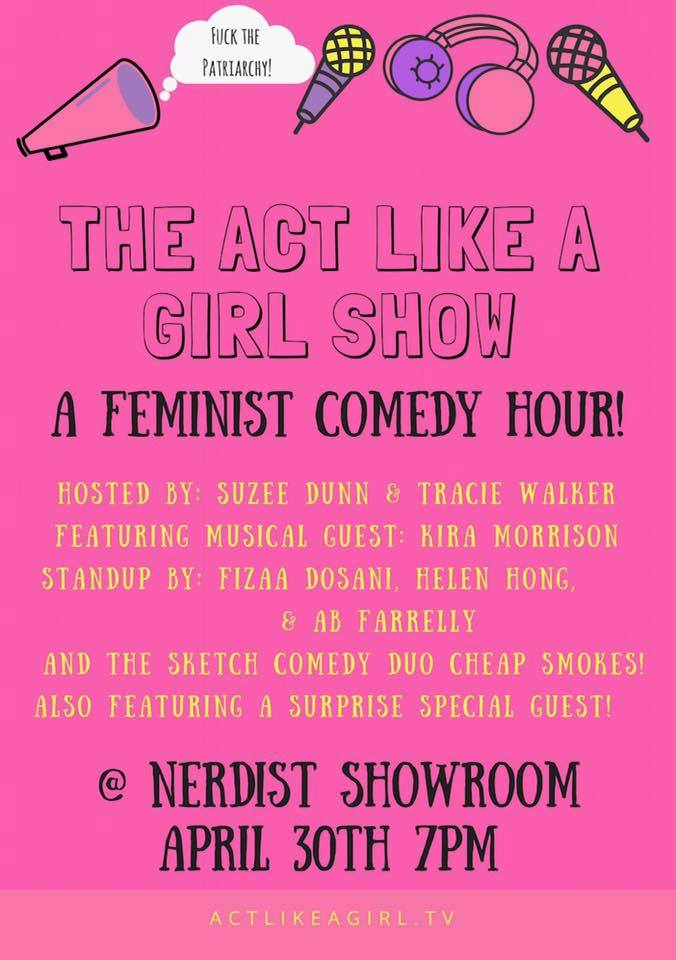 Act Like a Girl Show at Nerdist Showroom