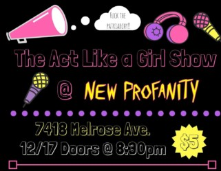 The Act Like a Girl Live Show, December