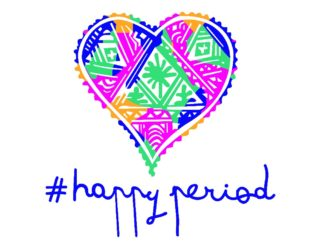 Act Like a Girl with Happy Period!